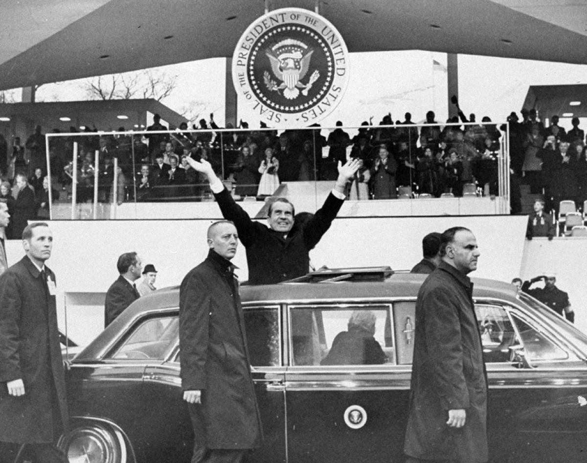 Richard Nixon Inauguration 1969