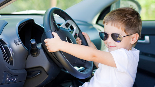 Child in Autnomous Car